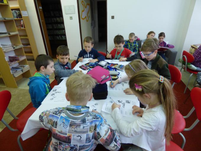 1. třída v knihovně - Ilustrátoři